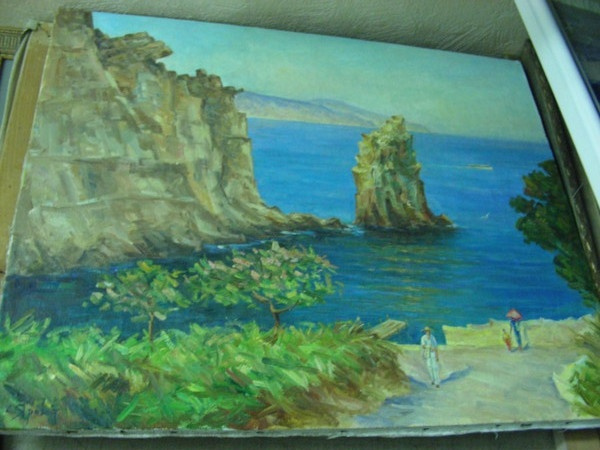 Stepan Yarovoy. Crimean landscape