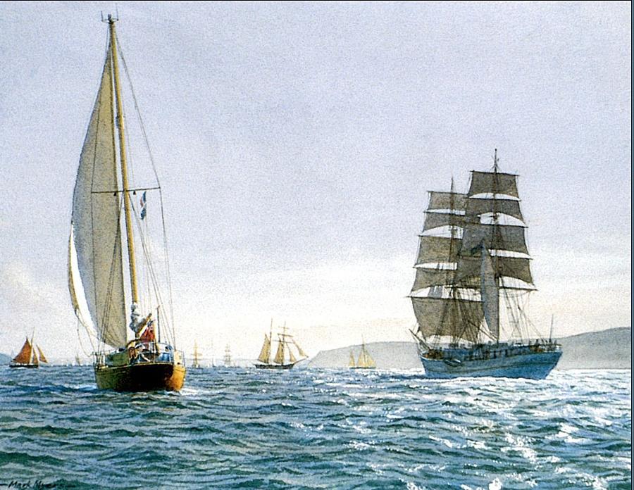 Mark Myers. Sailing ship 19