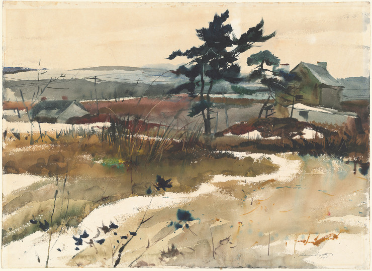 Andrew Wyeth. Brandywine Valley