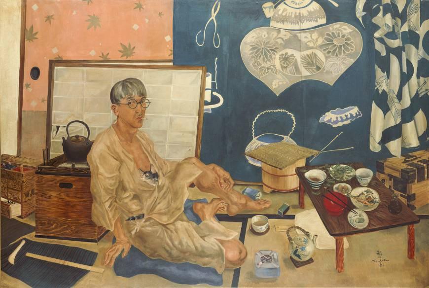 Tsuguharu Foujita (Léonard Fujita). Self-portrait