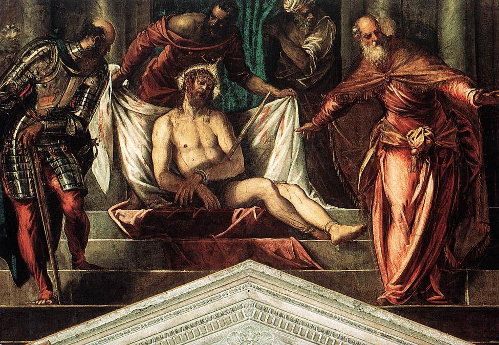 Jacopo (Robusti) Tintoretto. Crowning with a Crown of Thorns (Son of Man)