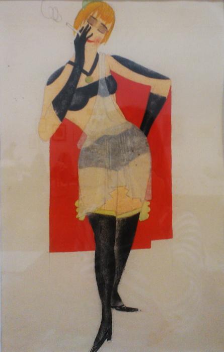 "Boris Robertovich Erdman. Sketch for the play ""Aeneid"" poem by Ivan Kotlyarevsky"
