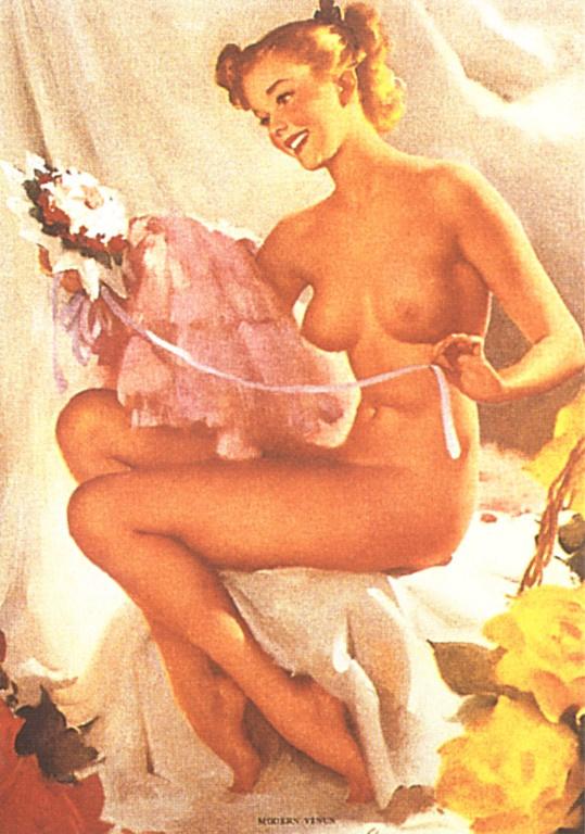 Jill Elvgren. Modern Venus