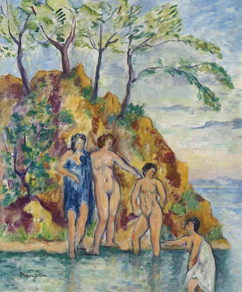 Henri Manguin. Bathers