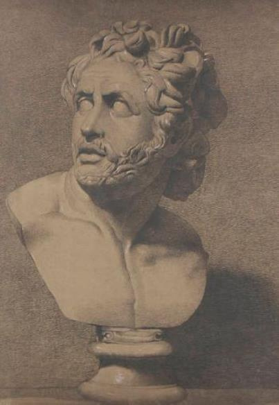 Джон Эверетт Милле. Эскиз античной скульптуры