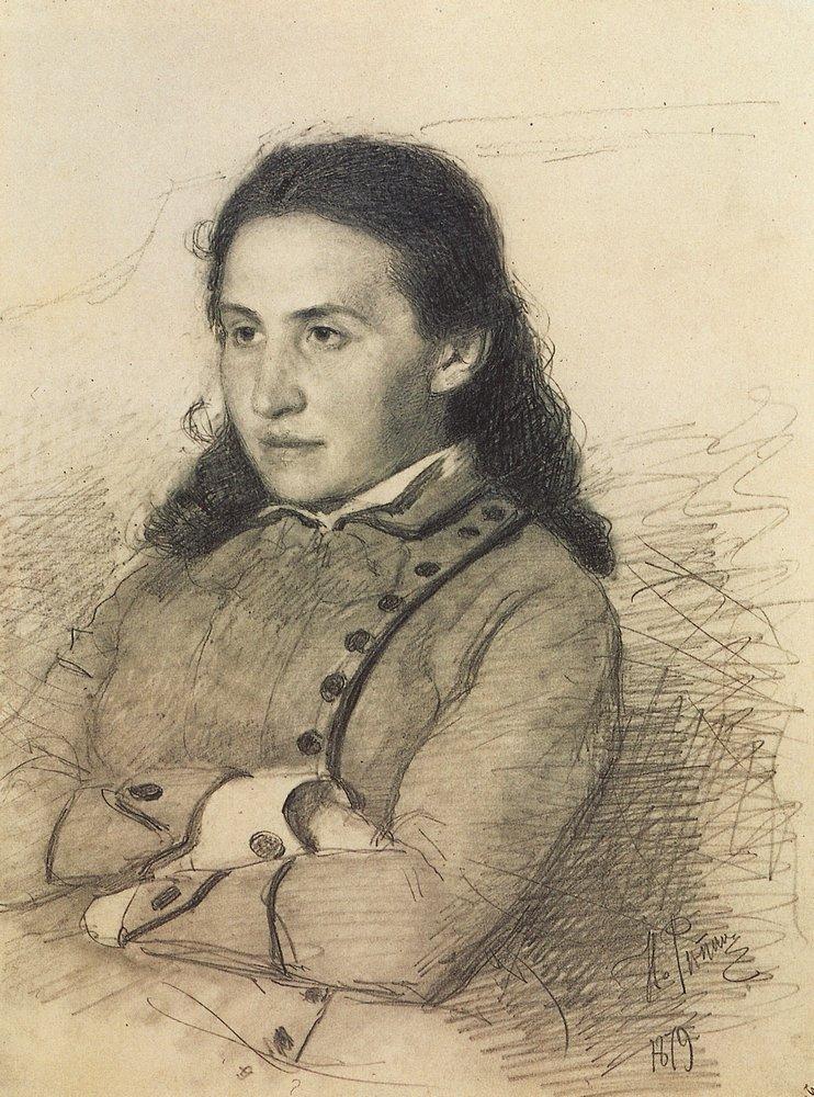 Илья Ефимович Репин. Портрет Е. Г. Мамонтовой