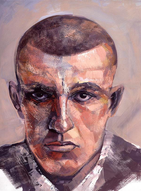 Igor Comorny. Portrait