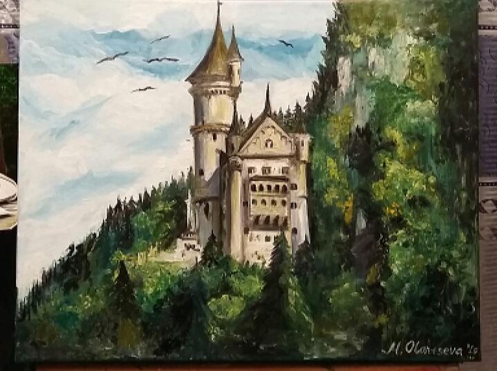 Маргарита Вадимовна Олонцева. Германский замок