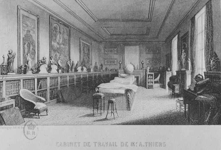 Шарль-Франсуа Добиньи. Кабинет Тьера