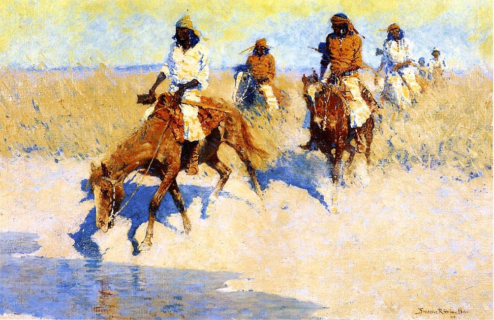 the life and career of frederic remington a western painter and sculptor Frederic sackrider remington was an american painter, illustrator, sculptor, and writer who specialized in depictions of the old american west, specifically.