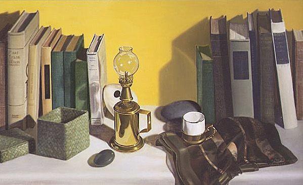 Линда Манн. Лампа и книги