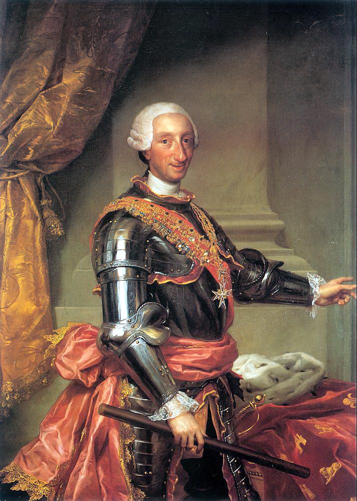 Антон Рафаэль Менгс. Карл III