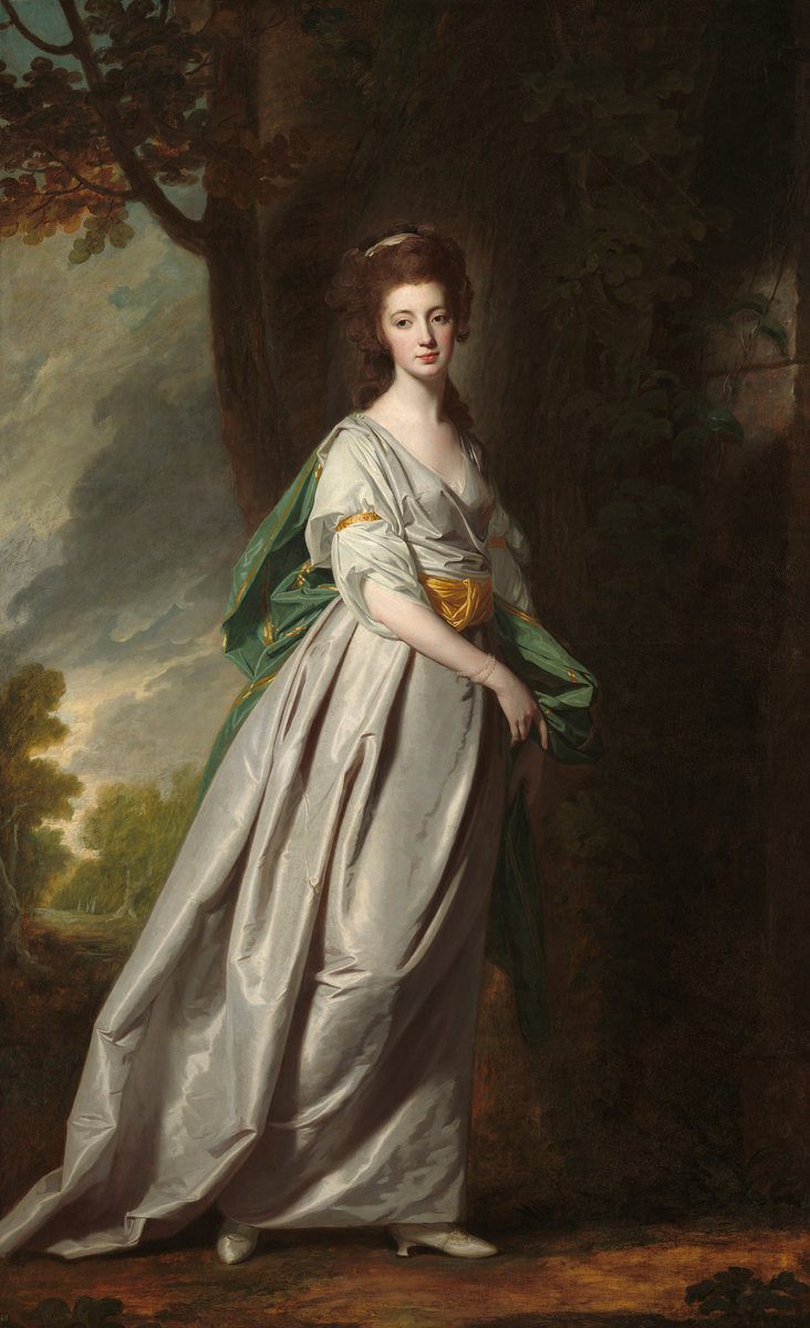 George Romney. Mrs. Thomas Scott Jackson