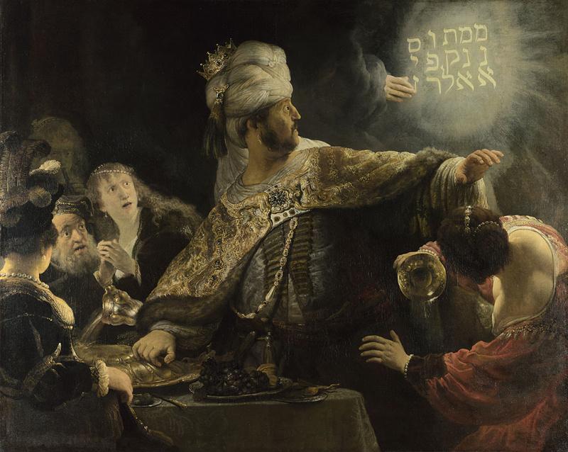 Rembrandt Harmenszoon van Rijn. The Feast Of Belshazzar