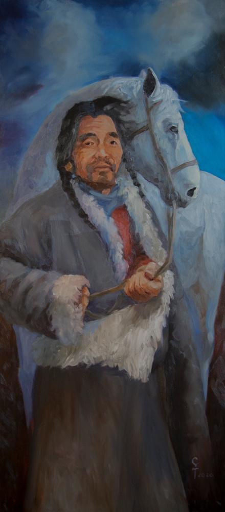 Konstantin Vyacheslavovich Starooskolsky. Evening. Soul of Tibet