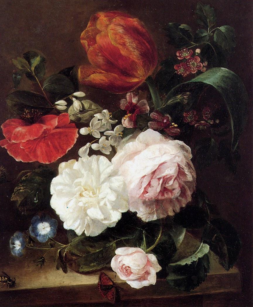 Кристина Шотел. Цветочный натюрморт