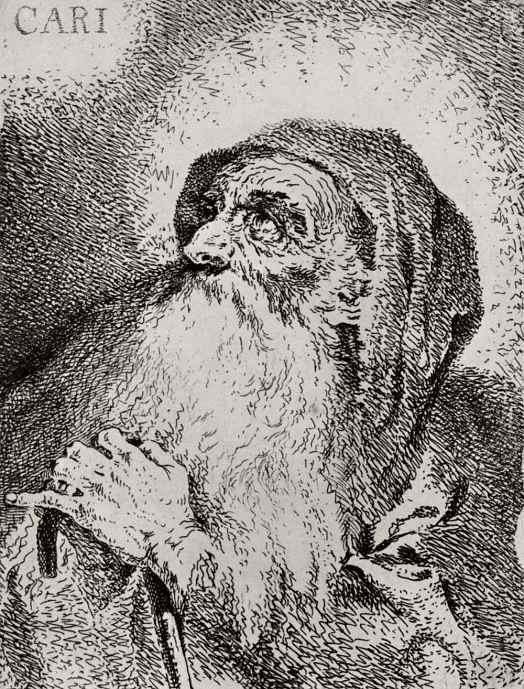 Франсиско Гойя. Святой Франциск из Паулы