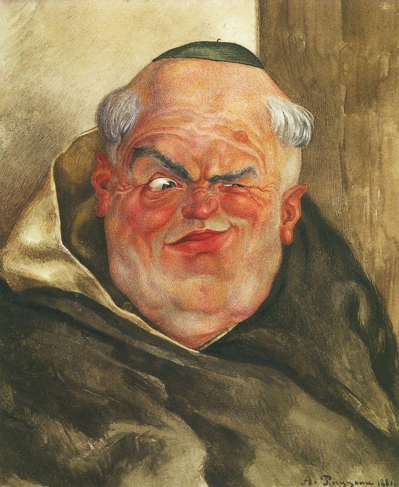 Александр Антонович Риццони. Католический монах