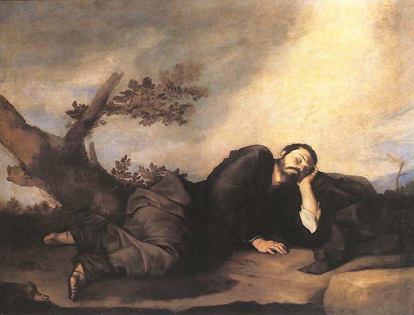 Jose de Ribera. Jacob's Dream