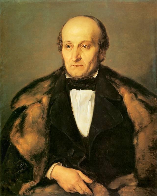 Ян Матейко. Портрет Париса Маурицио