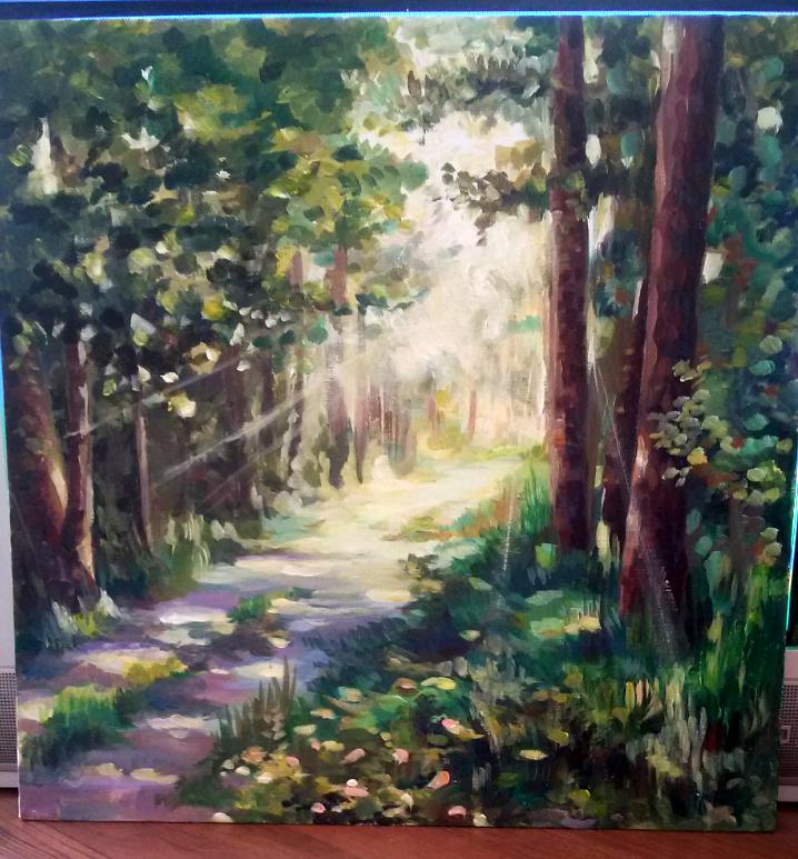 """Galina Mikhailovna Peltzer. """"Forest harmony"""""""