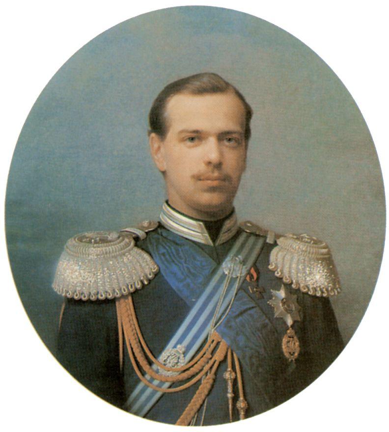 Сергей Константинович Зарянко. Портрет цесаревича Александра Александровича