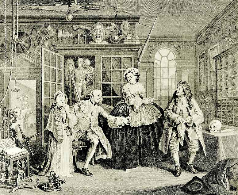 William Hogarth. The quack