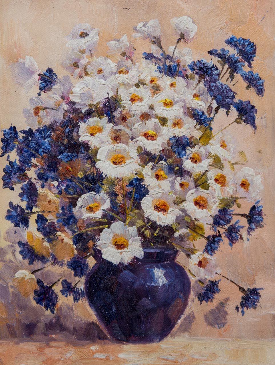 Andrzej Vlodarczyk. Chamomile and cornflowers