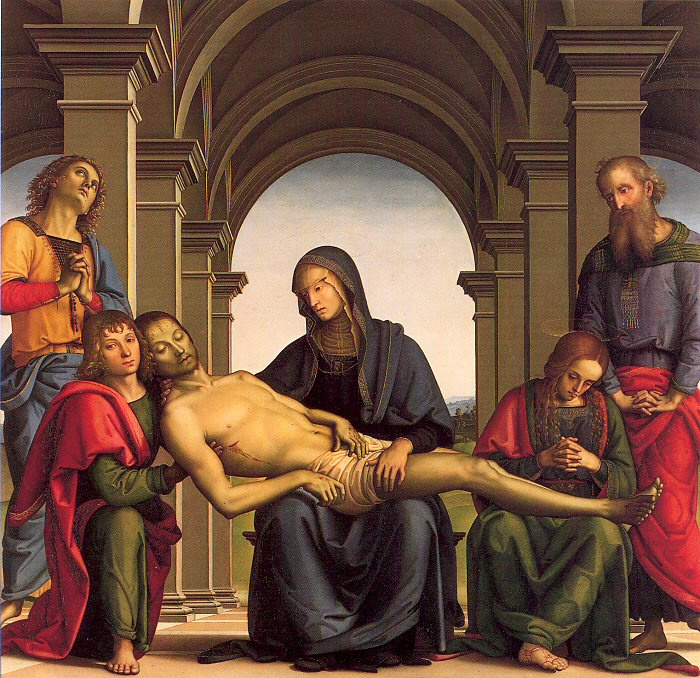 Pietro Perugino. Withdrawal