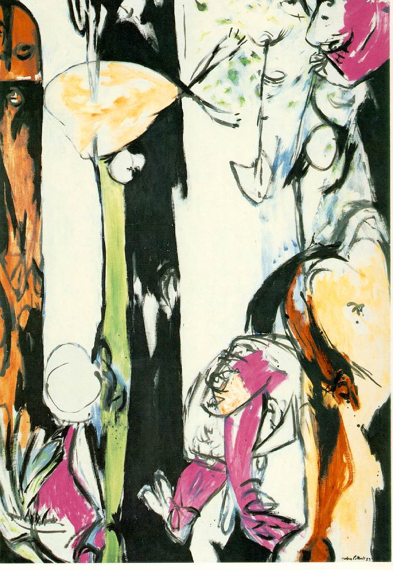Jackson Pollock. Easter and the totem
