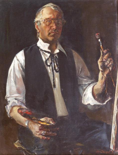 Victor Kronidovich Fedorov. Self-portrait