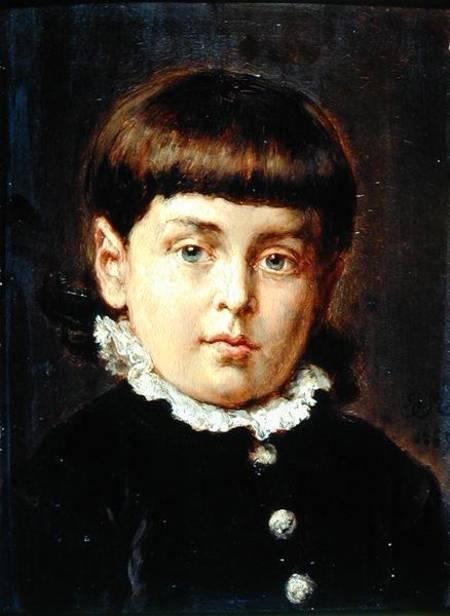 Jan Matejko. Portrait of a Boy (Younger Sokalsky)
