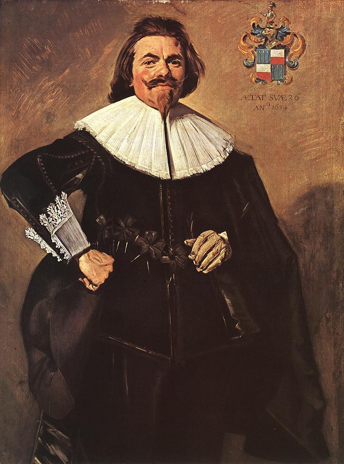 Frans Hals. Portrait Of Thielemann Of Rusterman