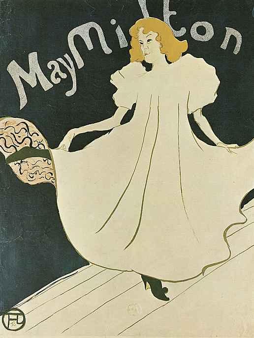 "Анри де Тулуз-Лотрек. Плакат ""Мэй Мильтон"""