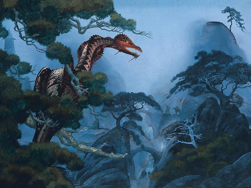 Roger Dean. Dragon's Dream