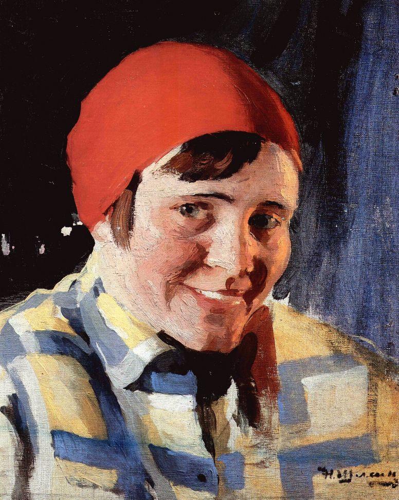 Николай Павлович Шлеин (Шлейн). Комсомолка