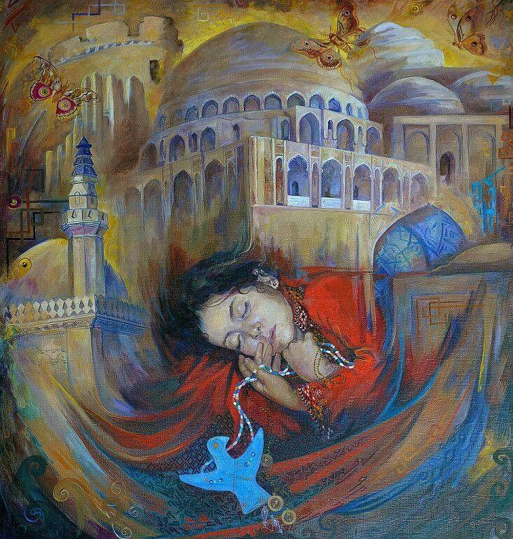 Suray Muradovna Akmuradova. Merv(Son)