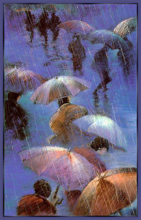 Блу Ессен. Прогулка под дождем