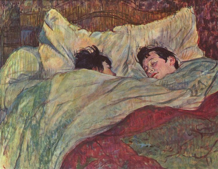 Анри де Тулуз-Лотрек. В кровати