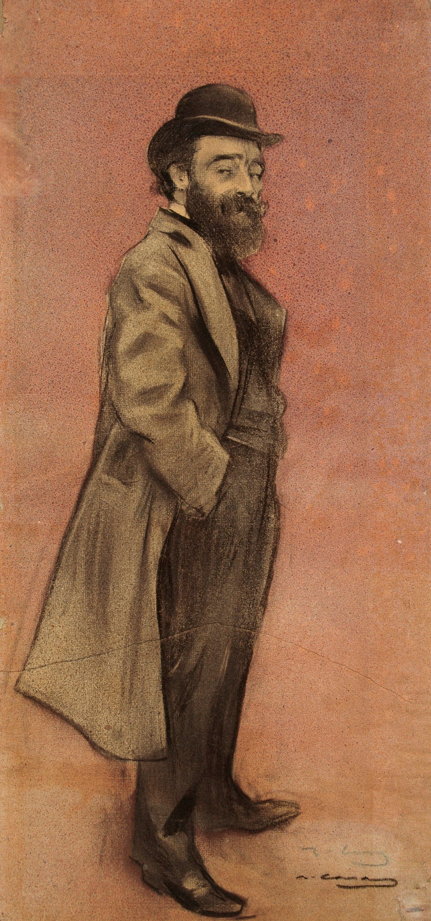 Ramon Casas i Carbó. Portrait of Elise Meifren