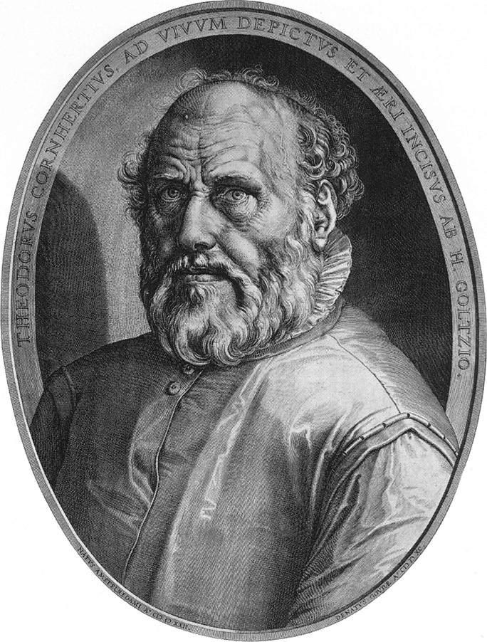 Хендрик Гольциус. Мужской портрет