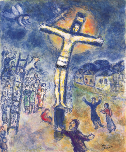 The Crucifixion By Marc Chagall History Analysis Facts
