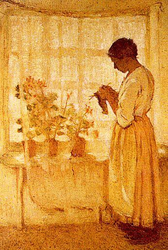 Дессар. Женщина у окна