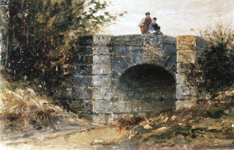 Алексей Петрович Боголюбов. Мост в Экуане