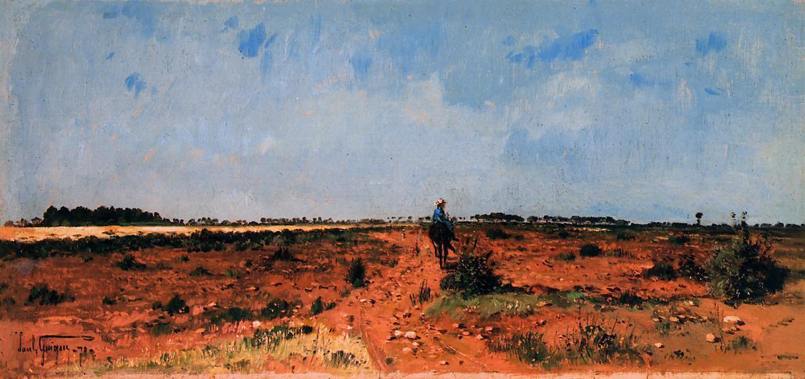 Поль-Камилл Гигу. Голубое небо