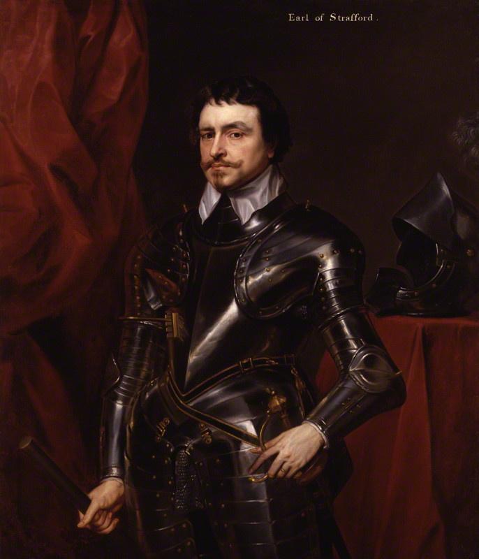Anthony van Dyck. Thomas Wentworth, 1st Earl of Strafford