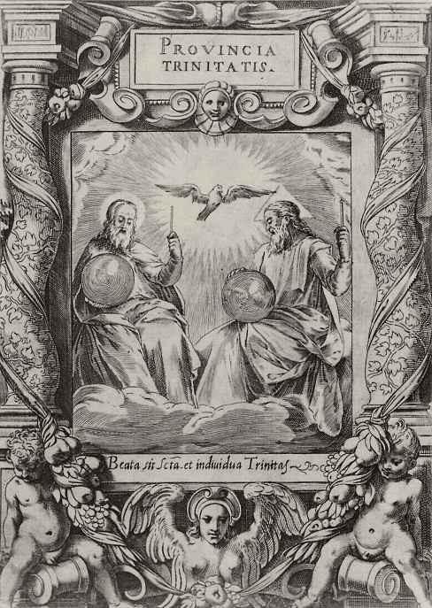 Агостино Карраччи. Святая Троица
