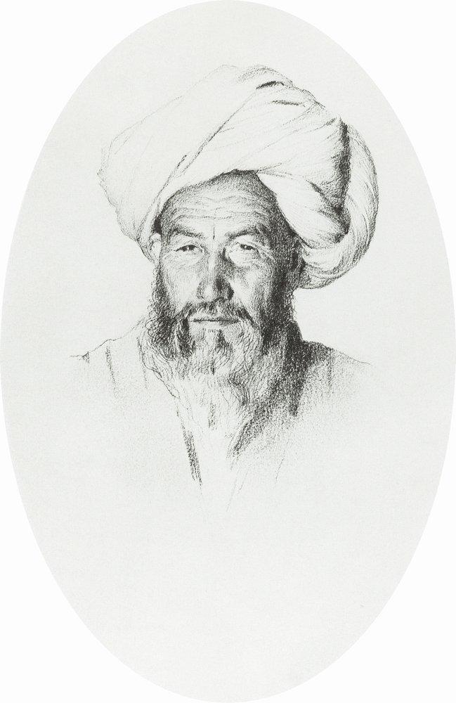 Василий Васильевич Верещагин. Узбек