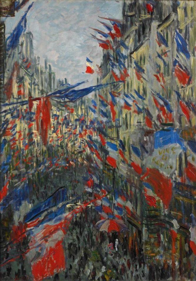 Клод Моне. Улица Сен-Дени, праздник 30 июня 1878