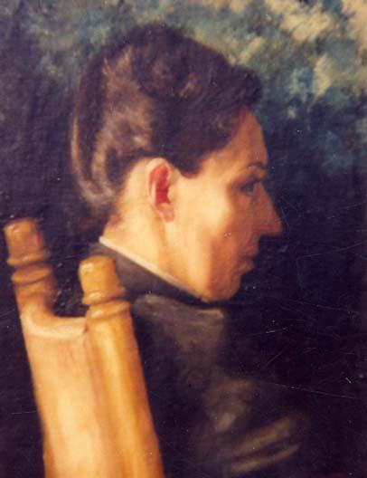 Thomas Eakins. Portrait Of The Vedas Cook